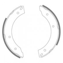 MGC 1967-69 Rear Brake Shoes