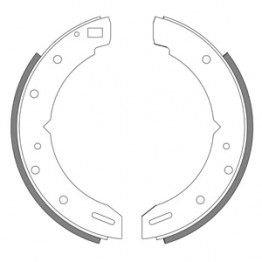 Morgan 4/4  +8  Triumphs and TVR's Rear Brake Shoes