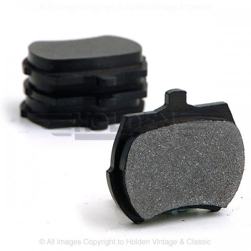 Minis with 12 in. wheels 1984-91 Brake Pads image #1