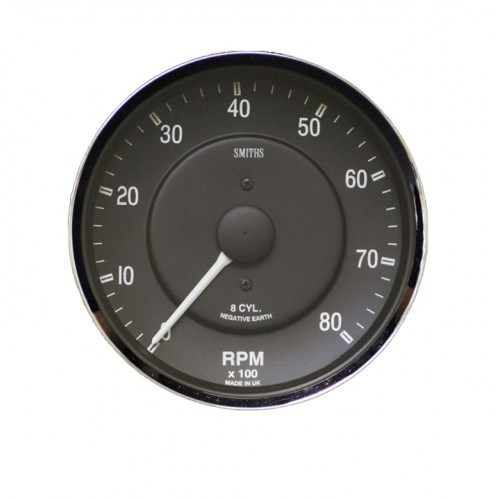 Smiths Classic AC Cobra Tachometer - 0-8000 rpm