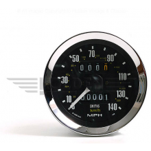 Smiths Classic 80mm Speedometer 0-140mph - Mechanical