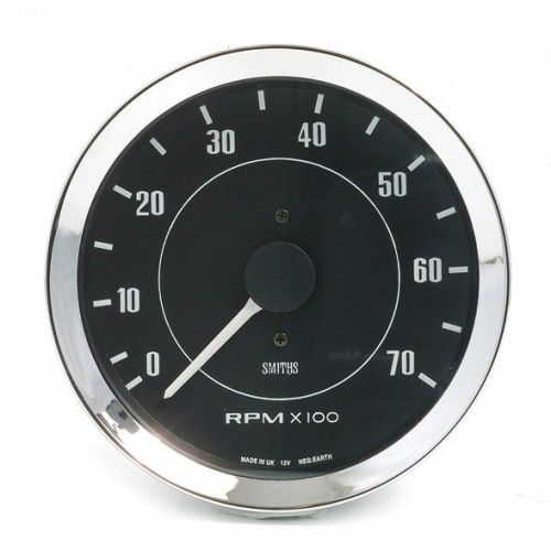 Smiths Classic 100mm Tachometer - 0-7000 rpm image #1