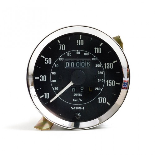 Smiths Classic 100mm Speedometer 0-170mph - Mechanical image #1