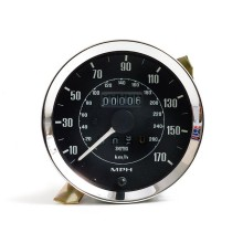 Smiths Classic 100mm Speedometer 0-170mph - Mechanical