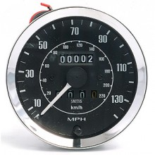 Smiths Classic 100mm Speedometer 0-140mph - Mechanical