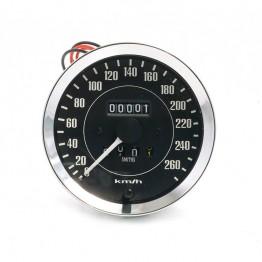 Smiths Classic 100mm Speedometer 0- 260kph - Mechanical
