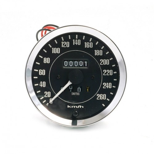 Smiths Classic 100mm Speedometer 0- 260kph - Mechanical image #1