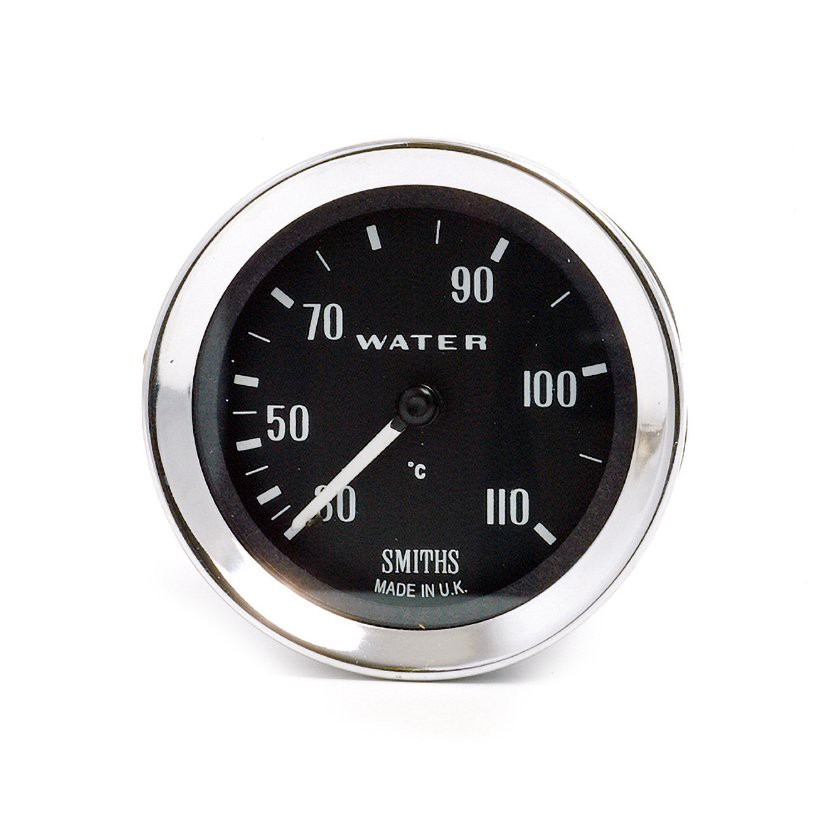 Rally Historic Race Smiths Classic Water Temperature Electrical Gauge