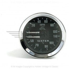 Smiths Classic Oil Pressure / Water Temperature (Deg C)