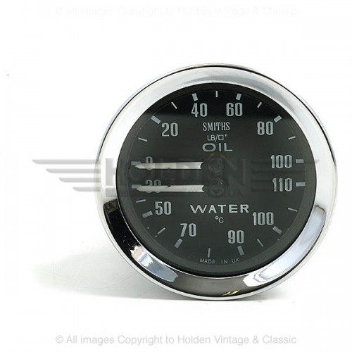 Smiths Classic Oil Pressure / Water Temperature (Deg C) image #1