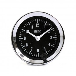 Smiths Classic Clock 52mm diameter - Black Dial