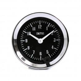 Smiths Classic Clock 52mm diameter - Black Dial