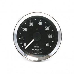 Smiths Classic 80mm Tachometer - 0-7000 rpm