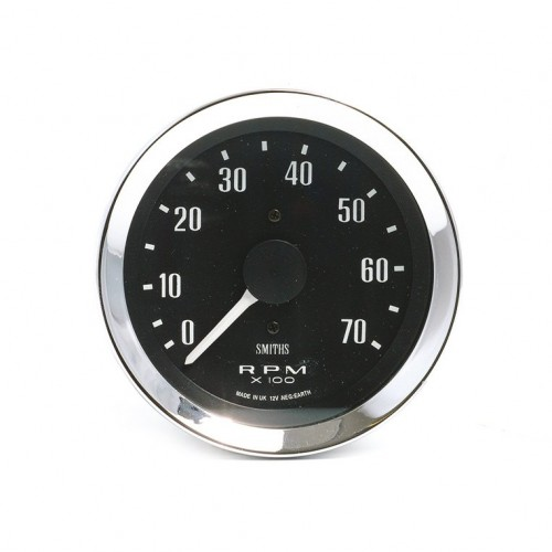 Smiths Classic 80mm Tachometer - 0-7000 rpm