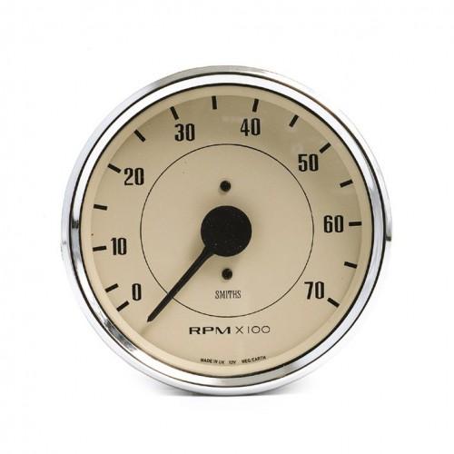 Smiths Classic 100mm Tachometer - 0-7000 rpm - Magnolia image #1