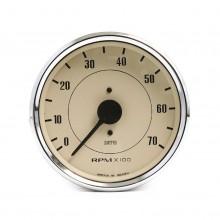 Smiths Classic 100mm Tachometer - 0-7000 rpm - Magnolia