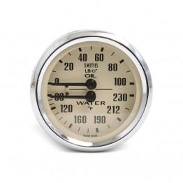 Smiths Classic Oil Pressure / Water Temperature (Deg F) - Ma