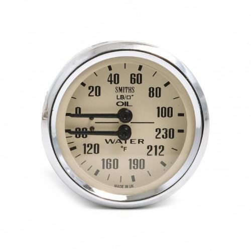 Smiths Classic Oil Pressure / Water Temperature (Deg F) - Ma image #1