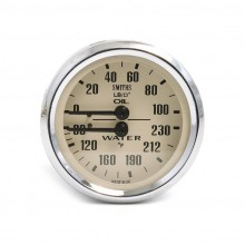 Smiths Classic Oil Pressure / Water Temperature (Deg F) - Ma