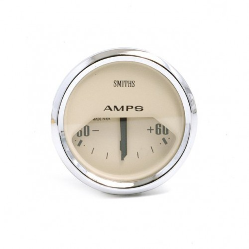 Smiths Classic Ammeter - -60 to +60 amps - Magnolia image #1