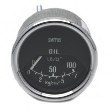 Smiths Classic Mini Oil Pressure Gauge - Mechanical