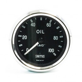 Smiths Classic AC Cobra Oil Pressure Gauge - Mechanical