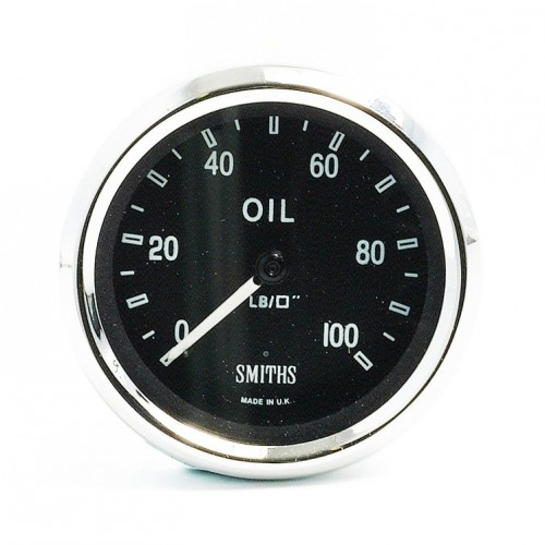 Smiths Classic AC Cobra Oil Pressure Gauge - Mechanical image #1