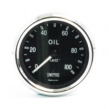 Smiths Classic AC Cobra Oil Pressure Gauge - Mechanical