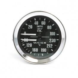 Smiths Classic Oil Pressure/Water Temperature (Deg F)