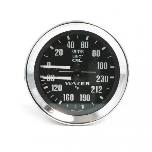 Smiths Classic Oil Pressure/Water Temperature (Deg F) image #1