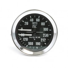 Smiths Classic Oil Pressure/Water Temperature (Deg F)