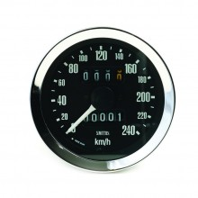 Smiths Classic 80mm Speedometer 0-240kph - Mechanical