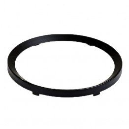 Rim Half Vee for 52mm Gauges - Black
