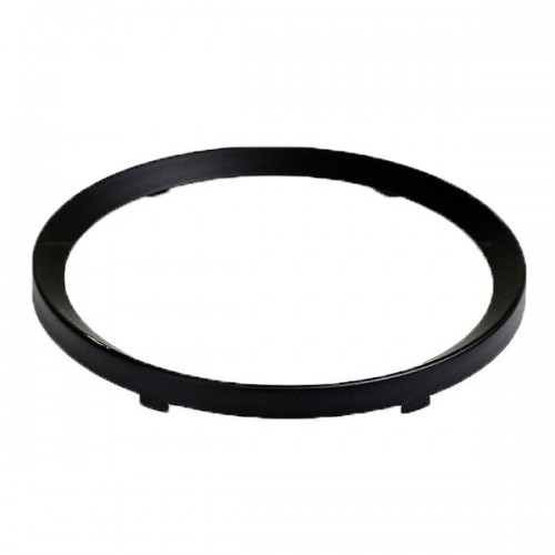 Rim Half Vee for 52mm Gauges - Black image #1