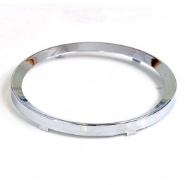 52mm - Rim Half Vee for 52mm Gauges - Chrome