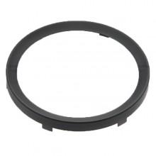80mm - Rim Half Vee for 80mm Gauges - Black