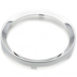 Rim Half Vee for 80mm Gauges - Chrome