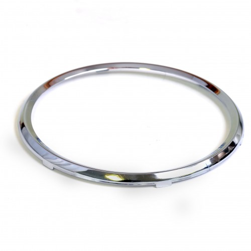 Rim Full Vee for 100mm Gauges - Chrome image #1