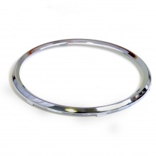 100mm - Rim Full Vee for 100mm Gauges - Chrome