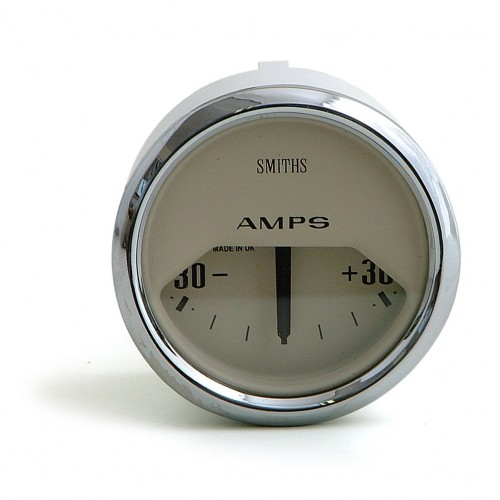 Smiths Classic Ammeter - -30 to +30 amps - Magnolia image #1