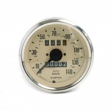 Smiths Classic 80mm Speedometer 0-140mph - Mechanical - Magnolia