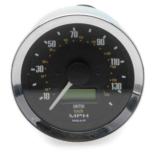 Smiths Classic 80mm Speedometer - 0-140mph - Electronic image #1