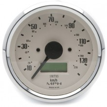 Smiths Classic 80mm Speedometer 0-140mph - Electronic - Magnolia