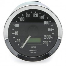 Smiths Classic 80mm Speedometer - 0-220kph - Electronic