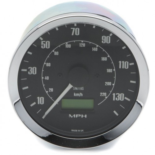 Smiths Classic 100mm Speedometer - 0-140mph - Electronic image #1
