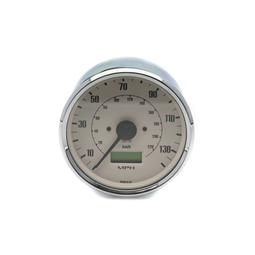Smiths Classic 100mm Speedometer - 0-140mph - Electronic - Magnolia image #1