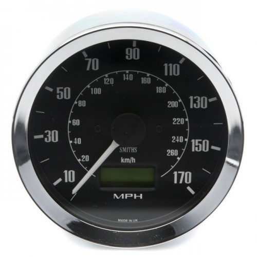 Smiths Classic 100mm Speedometer - 0-170mph - Electronic image #1