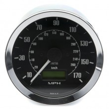 Smiths Classic 100mm Speedometer - 0-170mph - Electronic