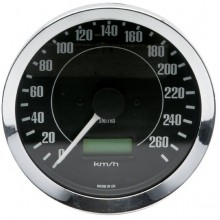 Smiths Classic 100mm Speedometer - 0-260kph - Electronic