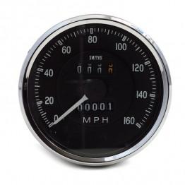 Smiths Classic AC Cobra Speedometer 0-160mph